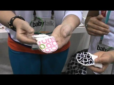 Guava mitts Keeps baby`s hands CLEAN @ Abc Kids Expo 2013