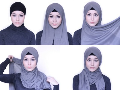 HIJAB TUTORIAL Everday simple style
