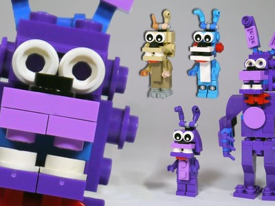 How to Build: LEGO Bonnie (Toy, Withered & Springtrap) | LEGO FNAF