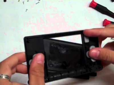 How to Fix DS Lite Broken Hinge & Replace Shell 1.2
