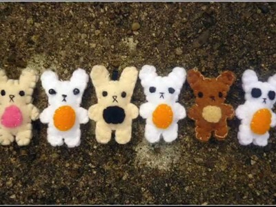 How to Make a Cute Bunny Plushie (For a Phone Charm or Keyring)