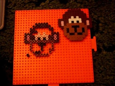 How to make a Perler bead Monkey