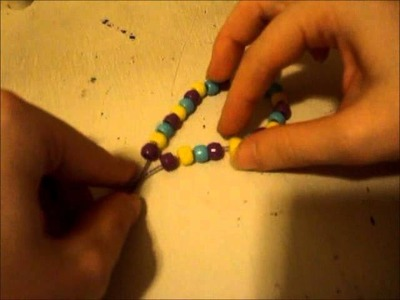 How to make a Simple Kandi Bracelet