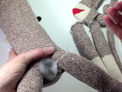 How to make a Sock Monkey Tutorial- Using a Pre-sewn Kit from SockMonkey.net
