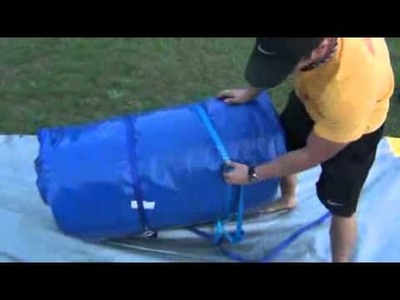 How to set up an Inflatable Jumper