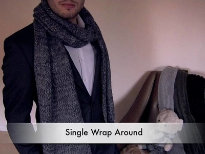 How to Tie a Scarf - Men - Single Wrap Around