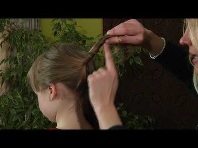 How to use a hair stick