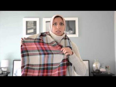 How To Wear Winter Neck Scarves with Hijab: 5 Scarves, 10 Looks - Haute Hijab