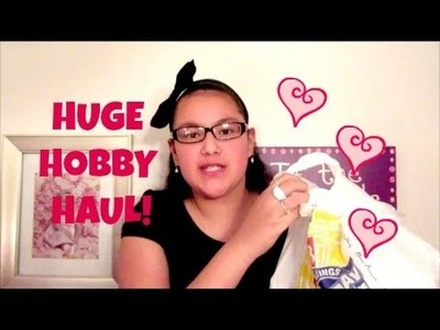 Huge Hobby Haul! Target, Barnes & Nobles, Hobby Lobby!