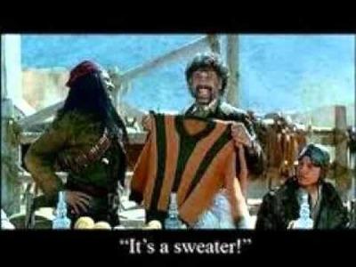 It's a Sweater