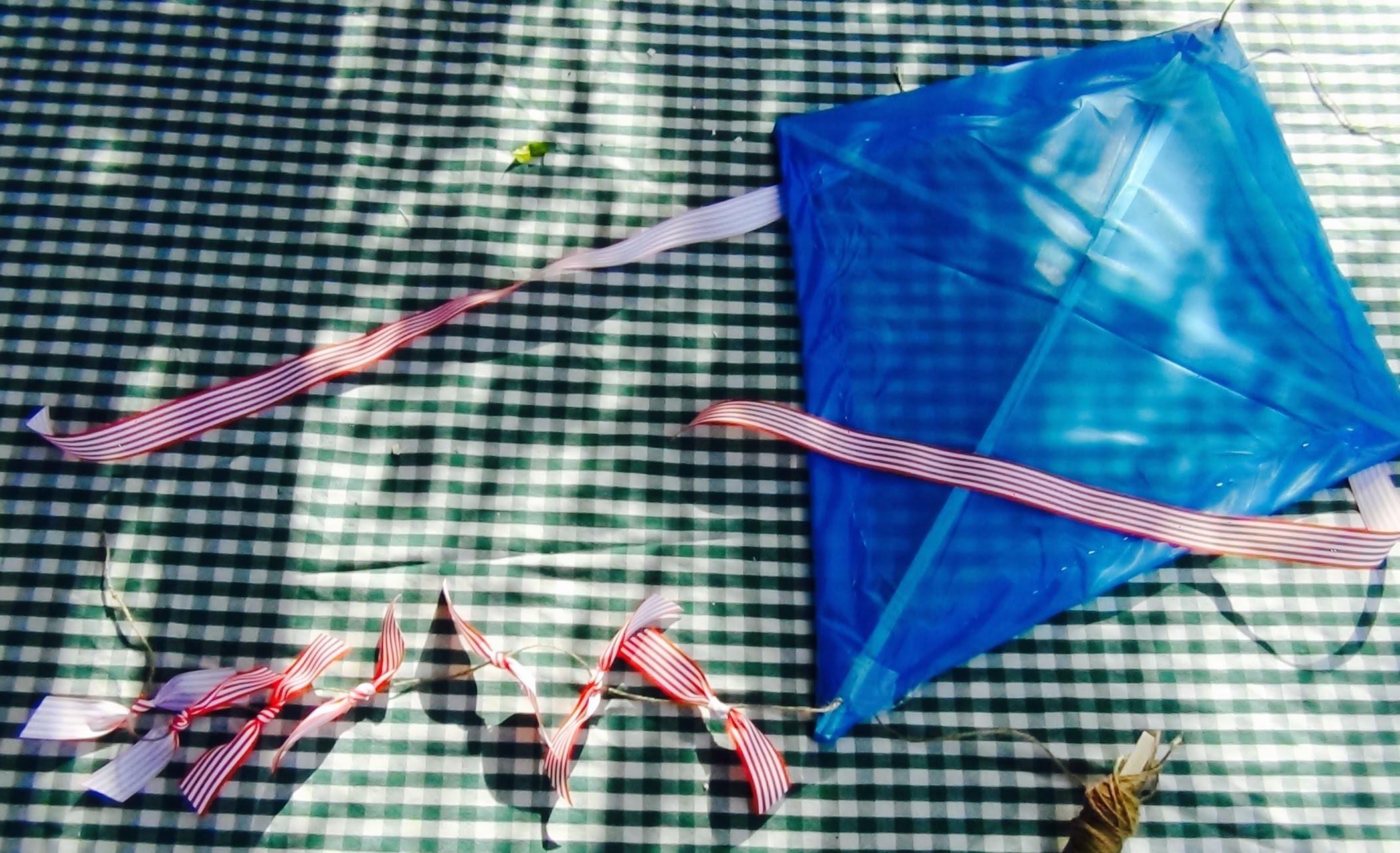 Kite flying: How to make a homemade kite