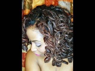 Loc Tutorial: Big Bouncy Loc Curls