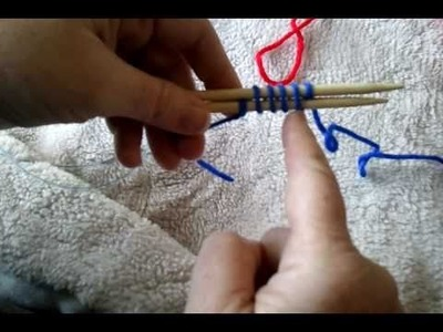 Magic Loop -- Toe-Up -- 2-at-a-time Cast-On