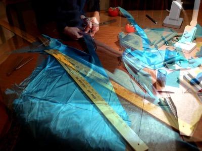 Making a Bias Cut Dress