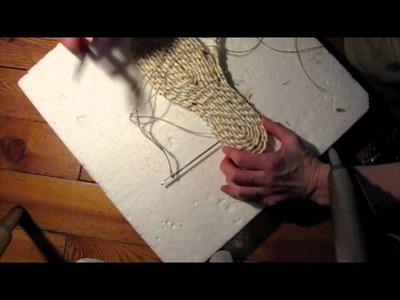 Making Shoe Soles Part 5: Espadrille Soles!