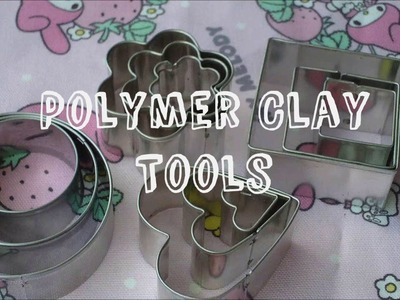 My Polymer Clay Tools