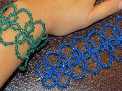 Needle Tatting Bracelet
