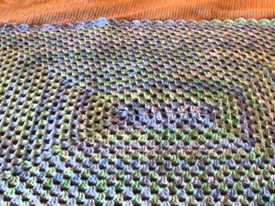 Rectangle Granny Baby Blanket