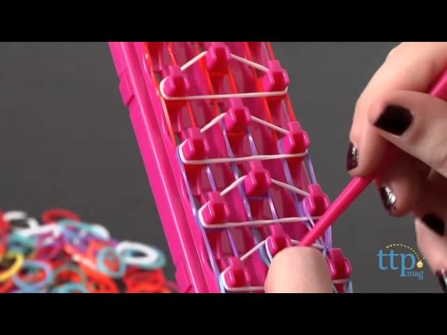 Shimmer N Sparkle Cra-Z-Loom Bracelet Maker from Cra-Z-Art