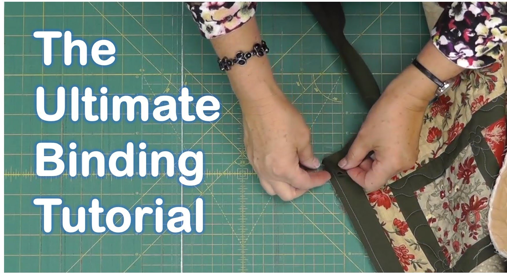 The Ultimate Quilt Binding Tutorial