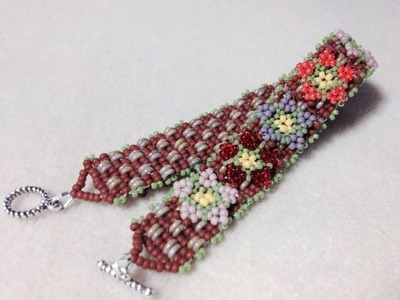 (Tutorial) Garden Of Love Bracelet PART 2 (Video 45)