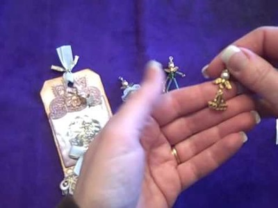 Angel Charms for your Mini Albums or Tags