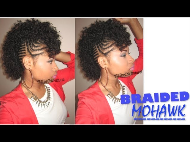 #BAWSE BRAIDED MOHAWK | Natural Hair Tutorial