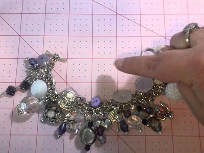 Charm Bracelet Tutorial #4 - the Finished Bracelet