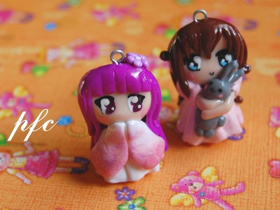 Chibi Charms {Polymer Clay Charm Update}