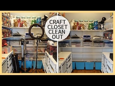 Craft Closet Clean Out | Spring 2015