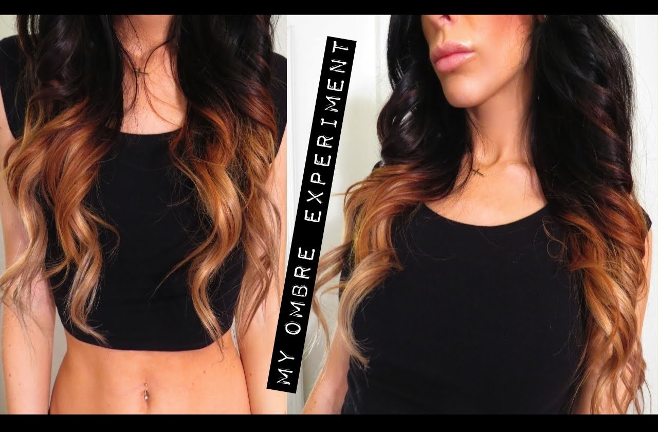 DIY At Home Ombre, Bleaching Hair, Extensions & L'oreal Wild Ombre Kit