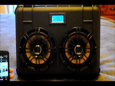 DIY Custom Portable Boombox: Pelican.POLK.Lepai.Bluetooth