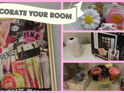 Dollar Tree Room Organizing & Decorating Ideas #1!!! (LAURAXOBELLEZA)