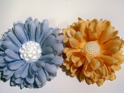 Flower Friday- Upcycled Old or Unused Silk Flowers