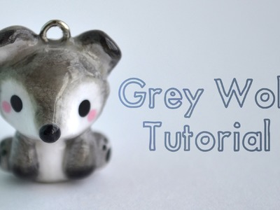 Grey Wolf Polymer Clay Tutorial