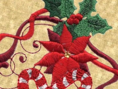 Holiday Traditions Embroidery Designs by Lindee G