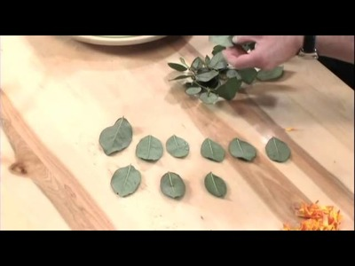 How to Arrange Flowers:  Composite Flowers!