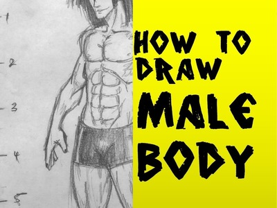 How to Draw Manga Male Body