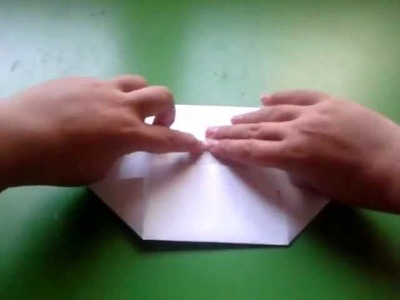 How to fold a box with a A4 paper
