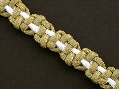 How to Make a Balanced Stone Bar (Paracord) Bracelet by TIAT