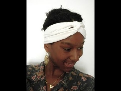 How to make a cute Turban Headband!