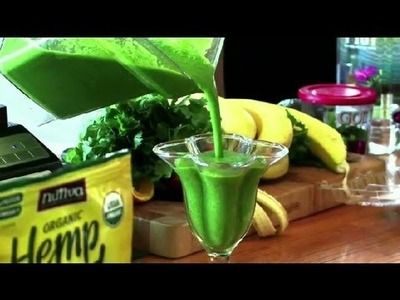 How to Make a Delicious Vegetable Smoothie : Raw Foods & Smoothies