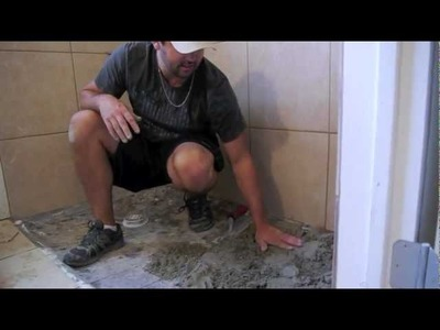 How to make a Handicap Accessible Shower by Tile Concepts of Austin (full video)