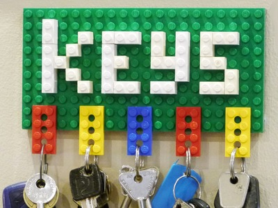 How to Make a Lego Key Holder