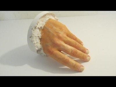 How to Make a Plaster Cast of your Hand