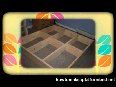How to Make a Platform Bed the Easy Way