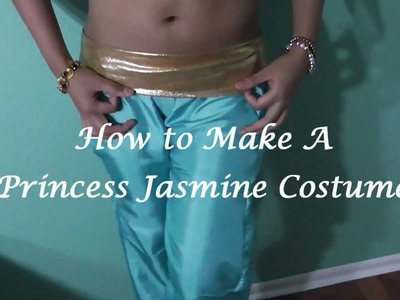 How to Make a Princess Jasmine Costume