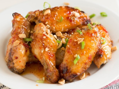 How to Make Asian Sweet Chili Baked Chicken Wings - Chicken Wings Recipe