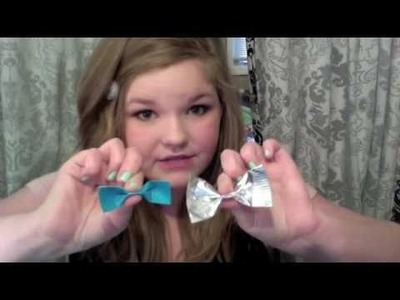How to make Duct Tape Bows