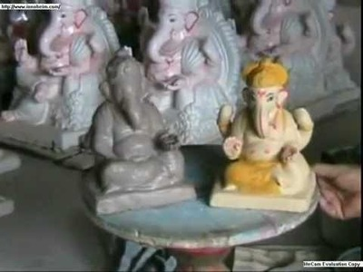 How to make Eco-Friendly Clay Ganesh Idol - Avoid Plaster of Paris Ganesh Idols